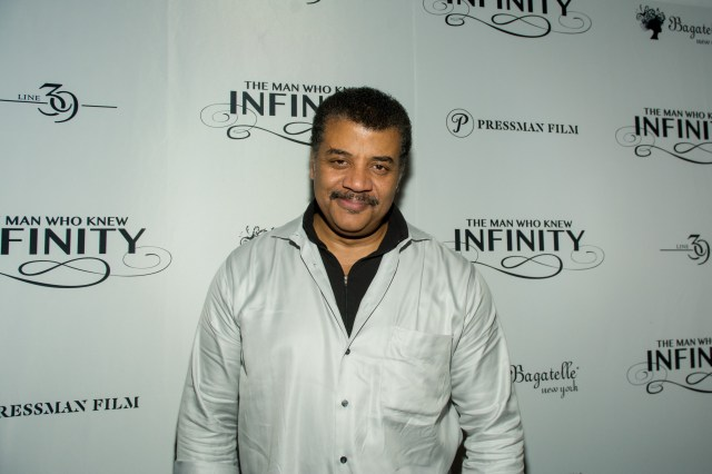 "Physicist Neil deGrasse Tyson at a dinner and conversation during ""The Man Who Knew Infinity"" New York Screening"