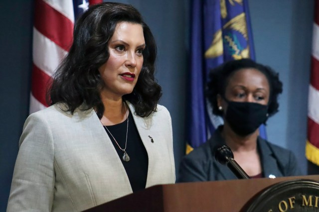 Michigan Gov Gretchen Whitmer accused Trump of 'inciting domestic terrorism'