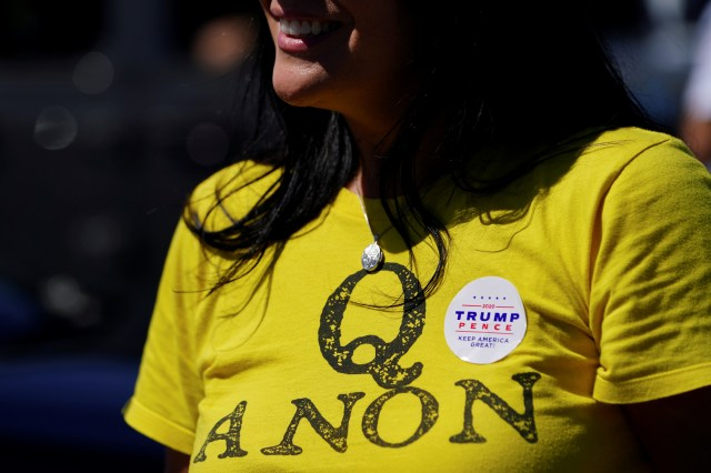 QAnon believers think cannibals and pedophiles secretly control the world.