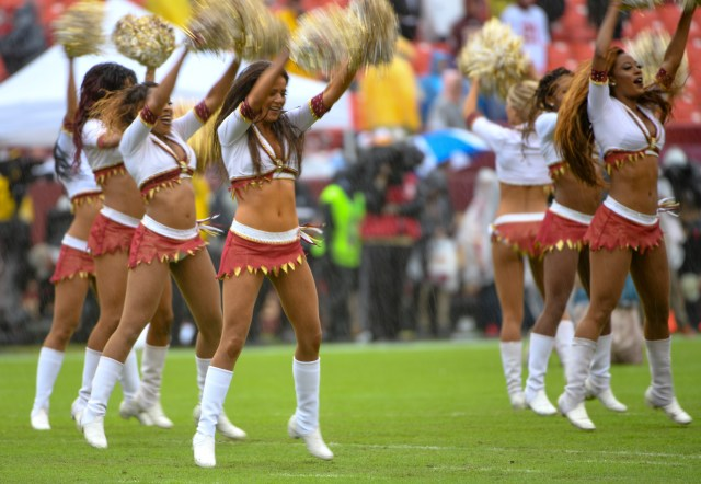 A group of 12 former cheerleaders for the team, previously known as the Redskins, have said they intend to sue Snyder