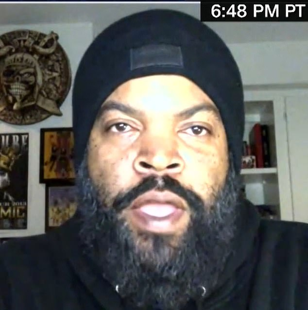 Ice Cube blasted back at Cuomo that this was not about politics