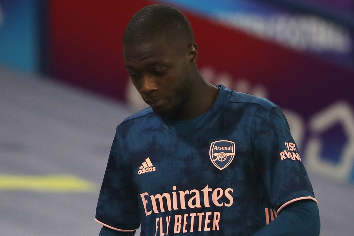 Arsenal won't loan out Pepe in January despite headbutt shame and form concerns