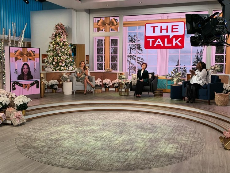 Carrie Ann Inaba breaks down in tears on The Talk over ...