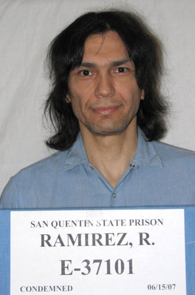 Ramirez was sentenced to death but died of cancer before his execution was carried out