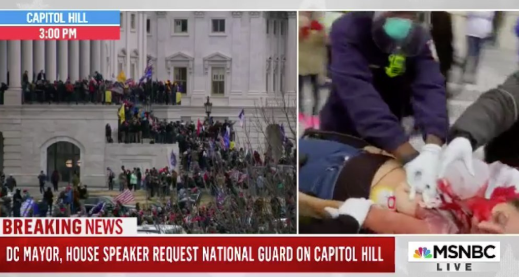 WATCH: Woman in critical condition after being shot on Capitol grounds: report