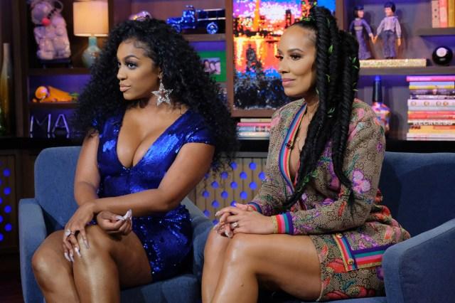 Kenya Moore insinuated that it had been Porsha and Tanya Sam