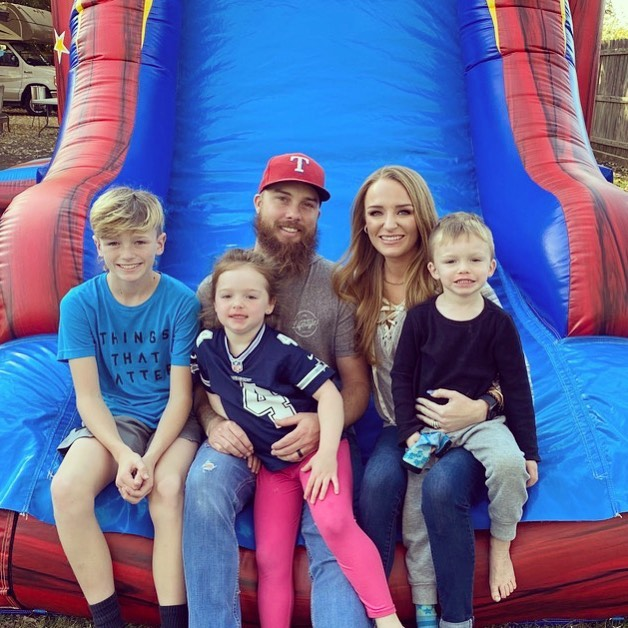 Maci has three children, two with husband Taylor