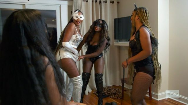 Fans also called it the most x-rated episode as Shamea shoved a vibrator inside Cynthia Bailey's underwear