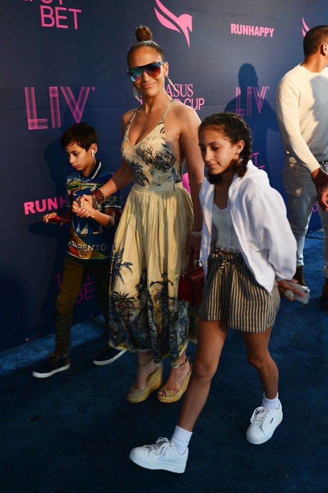 The twins are often seen with their mom at big events