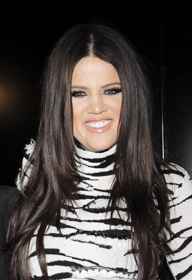 Khloe looks very different compared to ten years ago