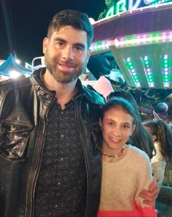 David's daughter has taken after her father's gun beliefs
