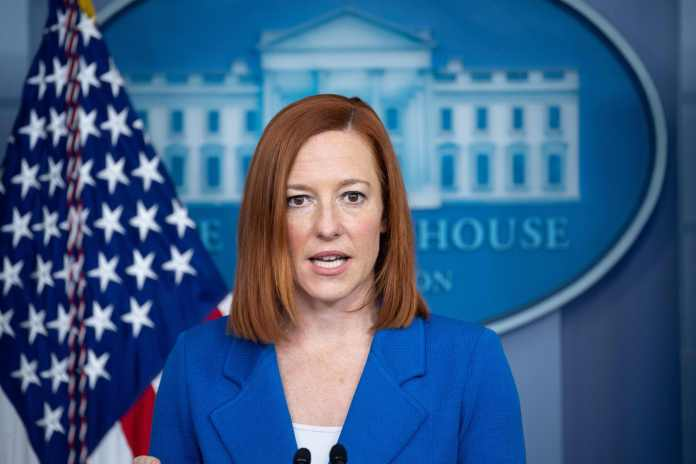 Psaki said the plan is 'about making an investment in America'