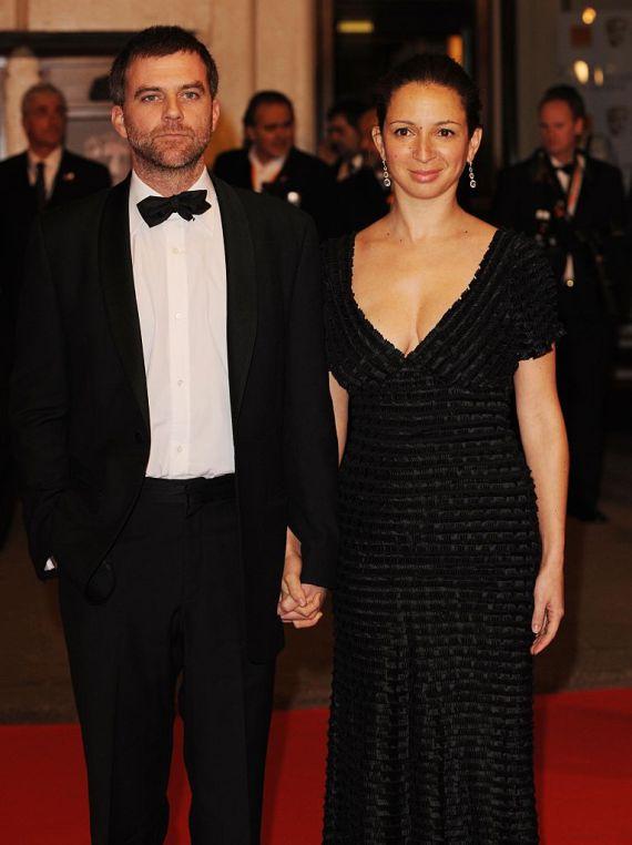 Paul Thomas Anderson and Maya Rudolph arrive at the British Academy Film Awards