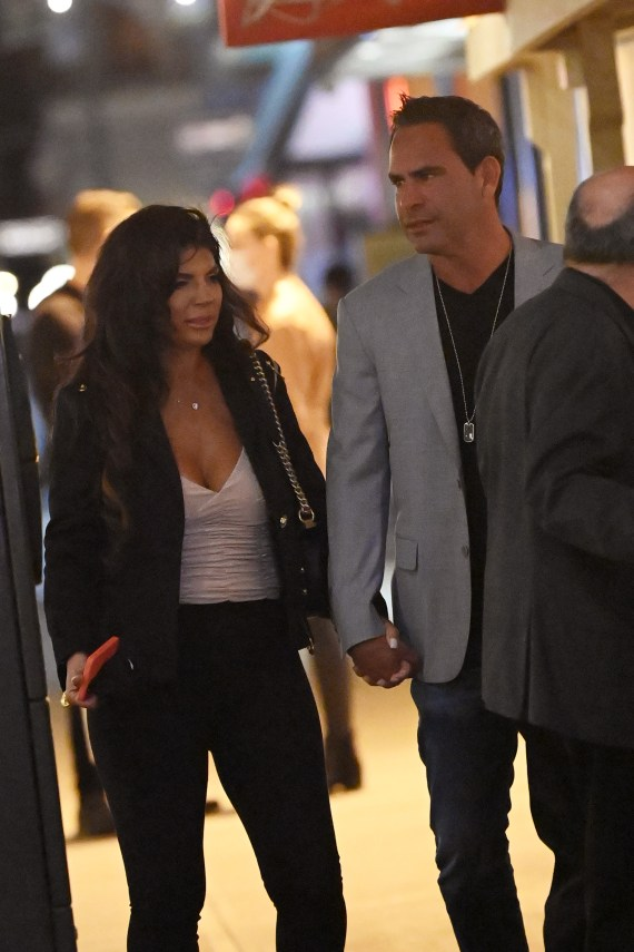 The pair were seen hand-in-hand as they headed to dinner in the Big Apple