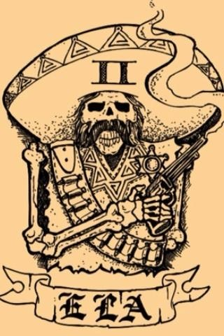 The Banditos have this tattoed to their bodies