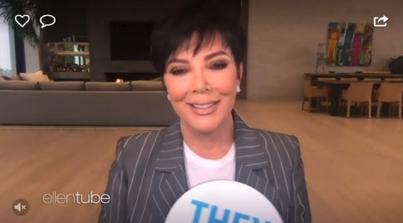 """Kris Jenner admitted she and Khloe Kardashian have matching tattoos on their """"booties"""""""