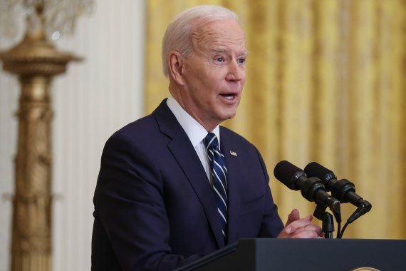 President Joe Biden has not yet commented on calls for recurring payments
