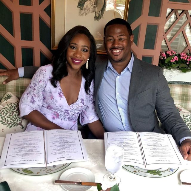 Marcus Richardson and Abby Phillip