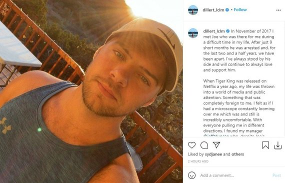In a lengthy statement posted to Instagram, Dylan further elaborated on his decision to split from Exotic