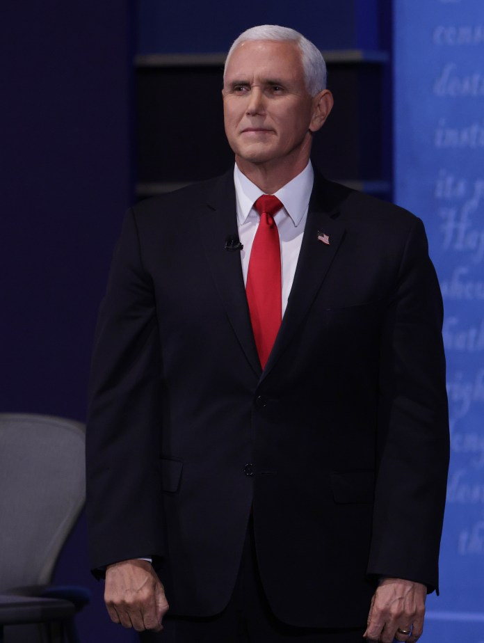 Former vice president Mike Pence is thought to be laying the groundwork for a presidential run in 2024