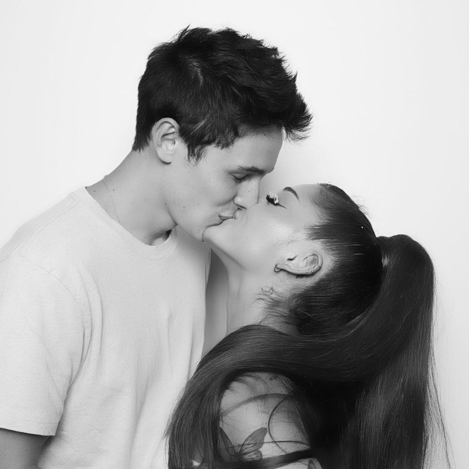 Ariana and Dalton started dating in February 2020