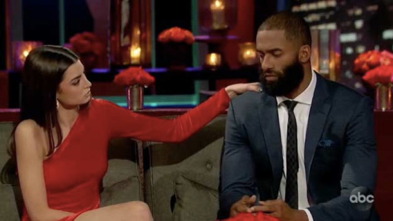Rachael tried to console Matt during a tense After The Final Rose segment