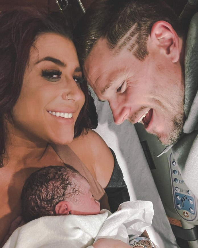 The couple just welcomed their fourth child