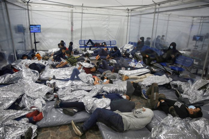 As of Sunday, there were 5,767 children in Customs and Border Protection custodyup from 5,495 children on Thursday
