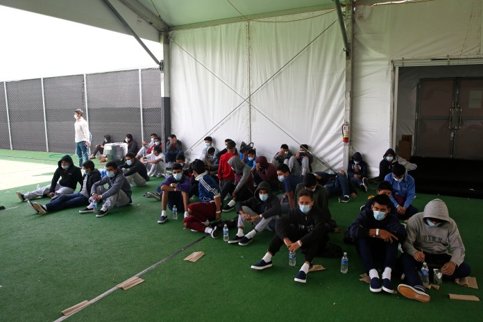 As of Sunday there were 5,767 children in Customs and Border Protection custody