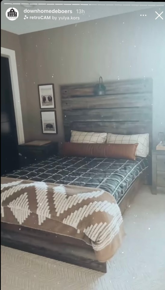 Chelsea then moved into Watson's bedroom