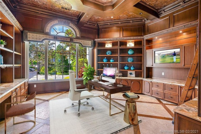 The impressive and expensive abode reportedly boasts six beds and 11 baths