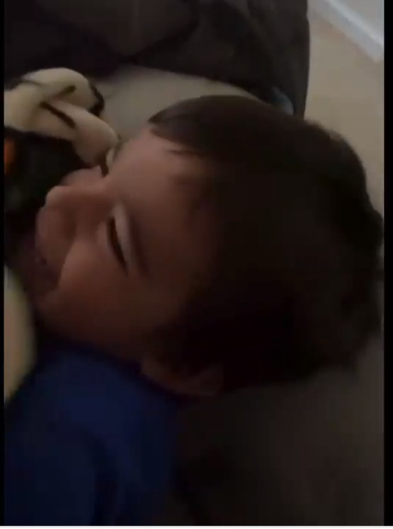 Fans slammed the Teen Mom star for not comforting his son, and for seemingly having him sleep in a hot room