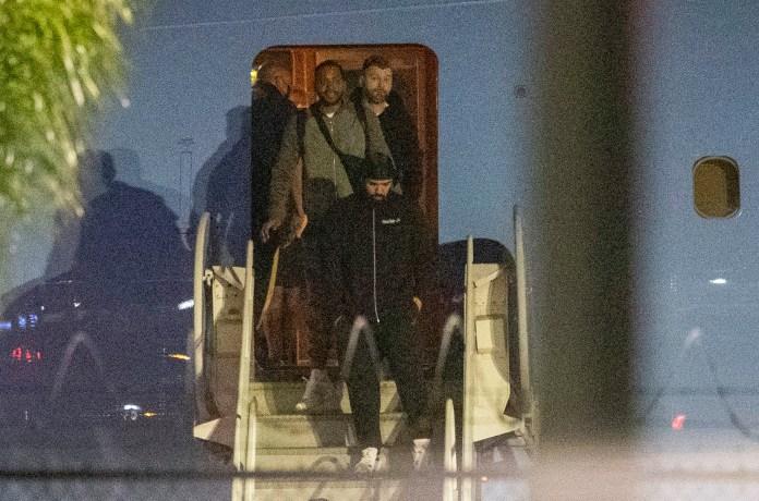 Drake flew to LA in his private Boeing 747