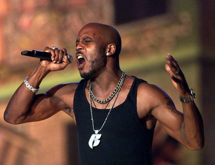 DMX performs in 2001