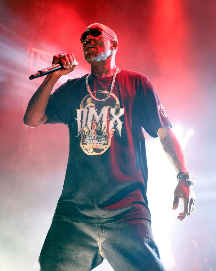 DMX performs in 2017