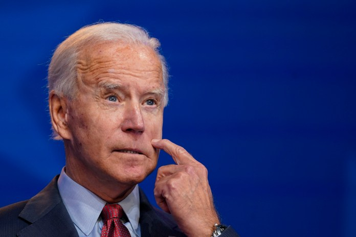 The Washington Post's fact-checker has branded Biden a 'recidivist'