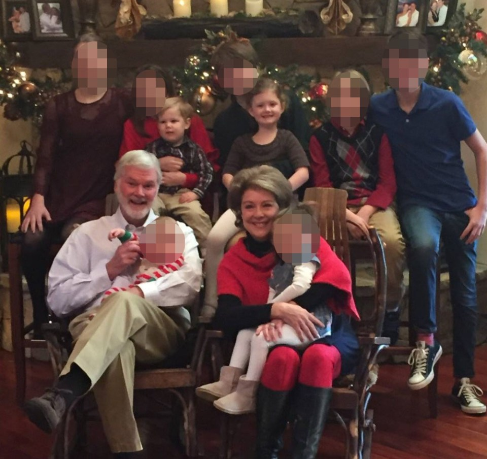 The grandparents and grandchildren died on Wednesday