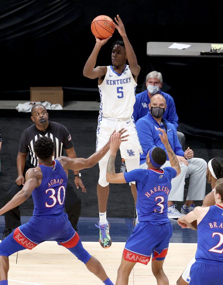 Terrence Clarke played his freshman season with the University of Kentucky