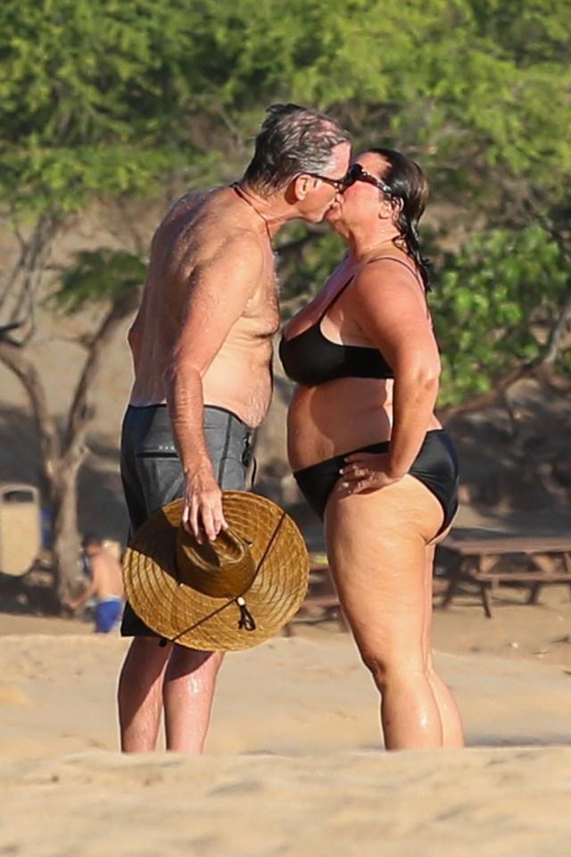 Smith fat so keely is shaye Pierce Brosnan's