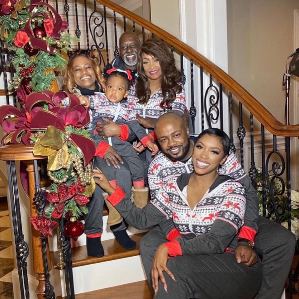 Porsha is mom to daughter Pilar with ex Dennis McKinley