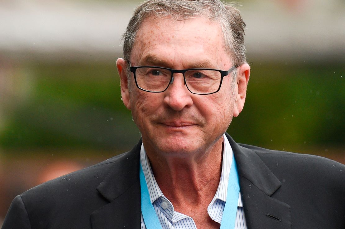 Hartin is the daughter-in-law of billionaire Lord Ashcroft