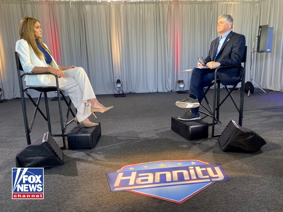 Caitlyn Jenner told Hannity that she was 'all for' a border wall