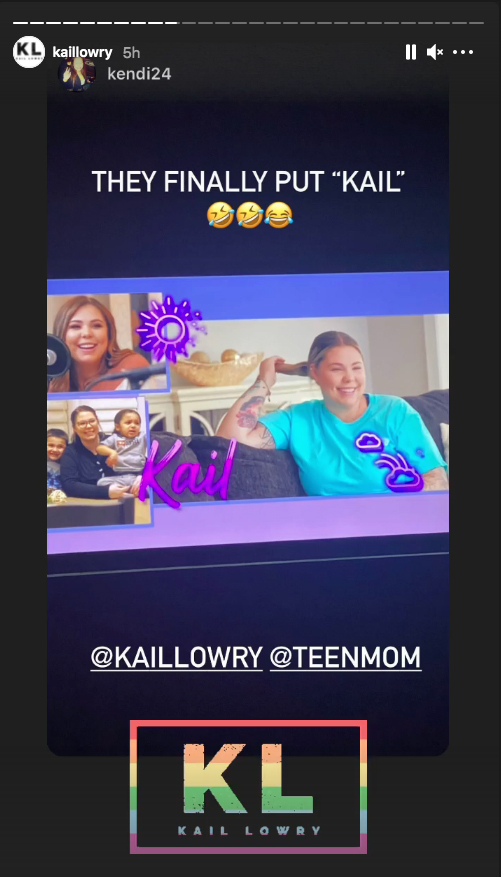 She made the announcement on her Instagram Stories