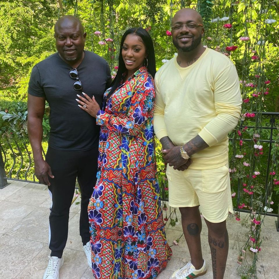 Friends suspect Porsha might be pregnant - though the couple has not confirmed this