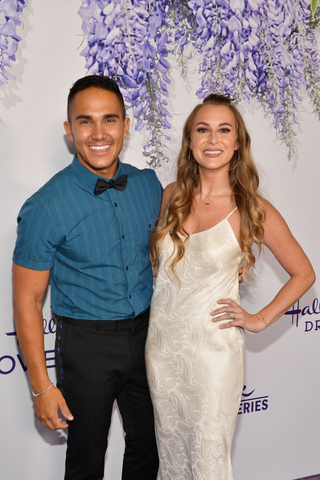 Alexa and Carlos PenaVega welcomed their third child together