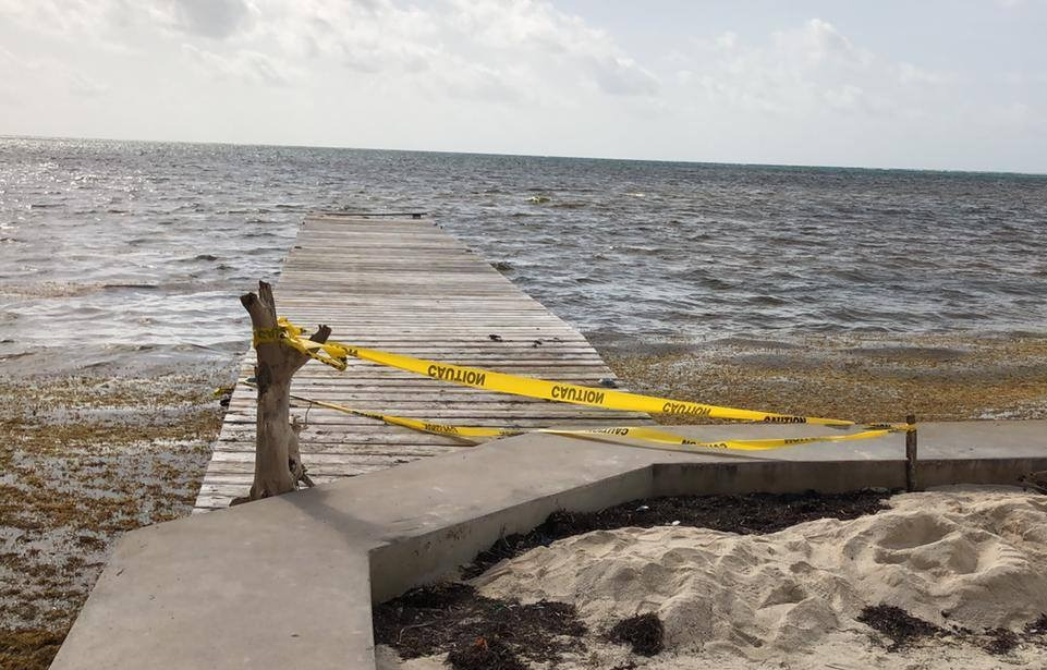 The cop's body was found in San Pedro, Belize on May 28