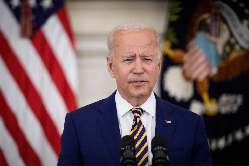 Biden congratulated the sports stars for their courage