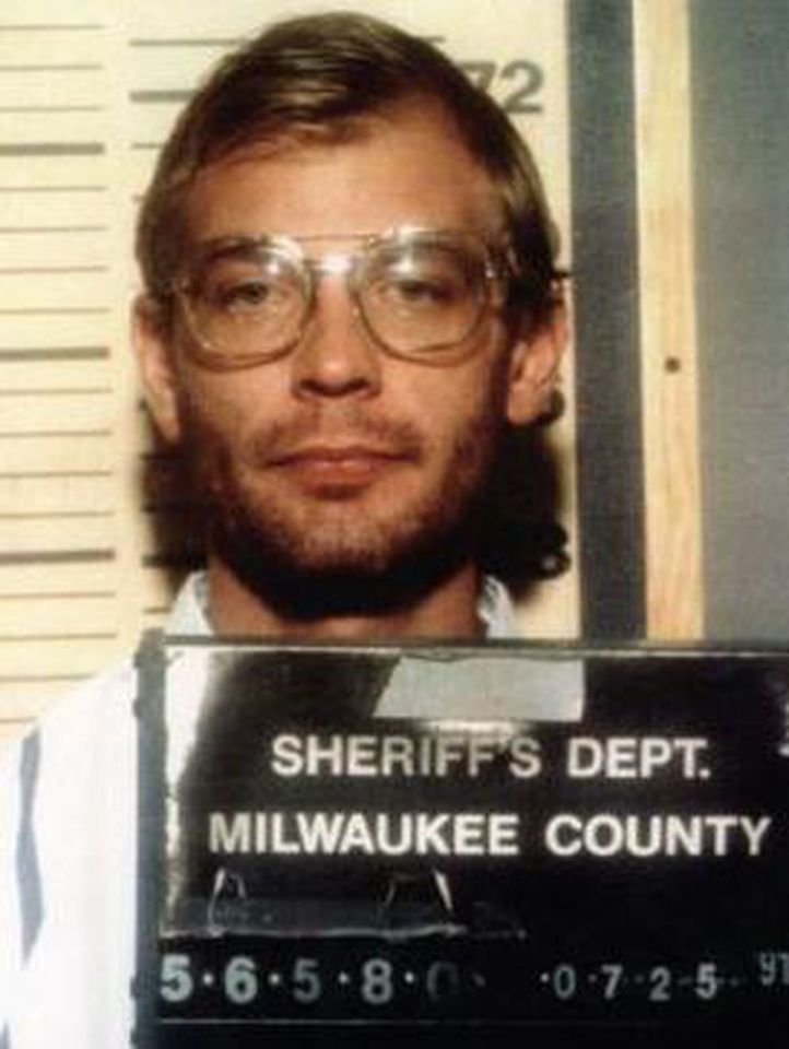 Jeffrey Dahmer's mugshot