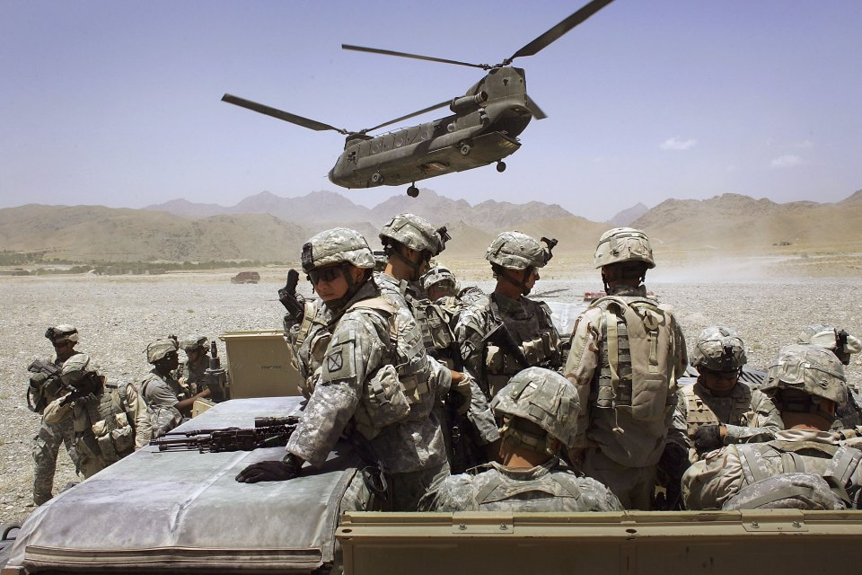 The Pentagon said it was retalitation for threats to US troops in the region