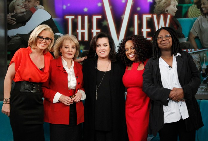 Sherri co-hosted the talk show The View